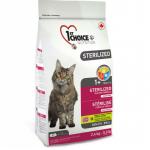 1ST CHOICE Sterilized сухой беззерновой корм для стерилизованных кошек (Курица и батат)